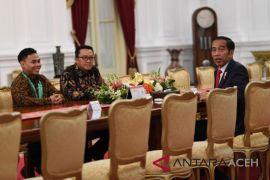 Lifter Eko dijamu Presiden Jokowi