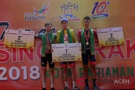 Jesse Ewart juara Tour de Singkarak 2018