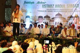 UAS Tausyiah Maulid di Masjid Raya Baiturrahman