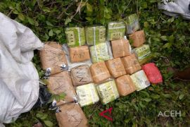 Warga Aceh ditangkap bawa 22 Kg sabu dari Malaysia