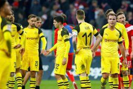 Dortmund telah kekalahan pertama