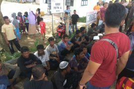 20 orang Rohingnya dipindahkan ke panti gepeng