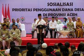 Jokowi bertemu ulama Aceh bahas RUU Ponpes