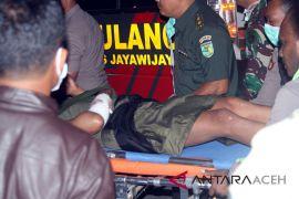 Korban selamat penyerangan KKB tiba di Timika