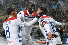Olympique Lyon lolos 16 besar Liga Champions