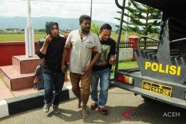 Buronan napi kelaparan ditangkap polisi