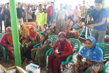76 warga Rohingnya terdapar di Pantai Bireuen