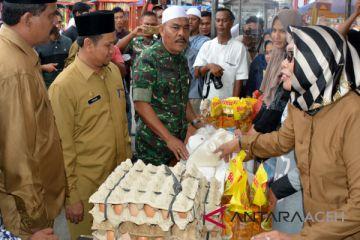 Aceh Timur gelar pasar murah untuk dhuafa