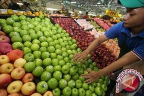 Buah impor dominasi pasar di Aceh