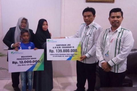 BPJS Ketenagakerjaan Banda Aceh bayar klaim Rp35,4 miliar