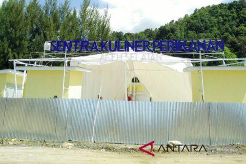 Pusat kuliner perikanan Aceh Selatan ambruk