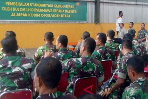 TNI bantu pemerintah sergab petani Nagan Raya