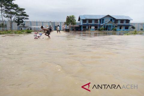 77 KK terdampak banjir di Aceh Singkil