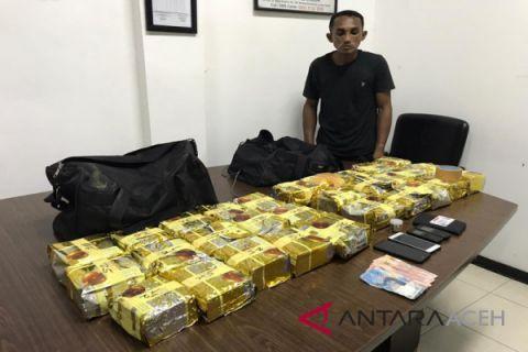 BNN tangkap sindikat jaringan narkoba Aceh-Malaysia