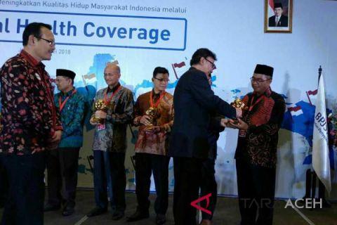 Aceh Barat dianugerahi UHC Award 2018