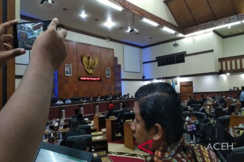 Komisi IV serahkan draf Raqan DAS ke pimpinan DPRA