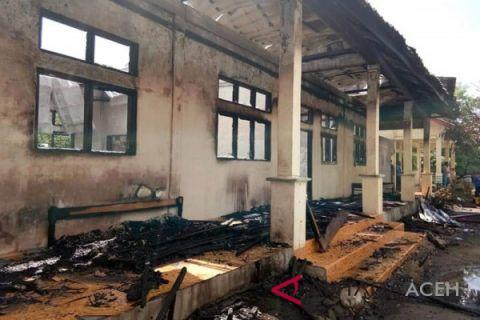 Asrama pesantren di Bener Meriah terbakar