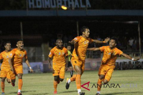 Persiraja pesta gol kalahkan Perserang 7-0