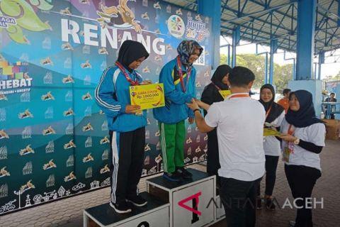 Aceh raih dua mendali emas di O2SN 2018