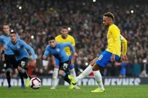 Penalti Neymar bawa Brazil kalahkan Uruguay