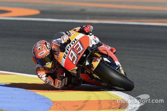 Marquez ungguli duo Ducati hari pertama latihan GP Valencia