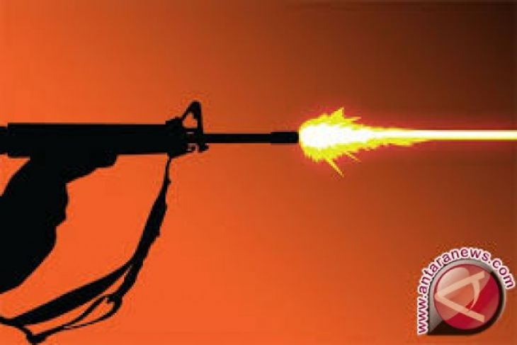 Polisi tembak mati seorang anggota kriminal bersenjata
