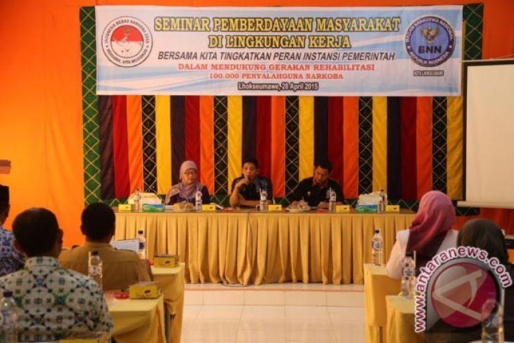 BNN Aceh intensifkan sosialisasikan layanan rehabilitasi