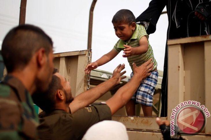 PBB berjuang untuk tangani eksodus warga sipil Mosul