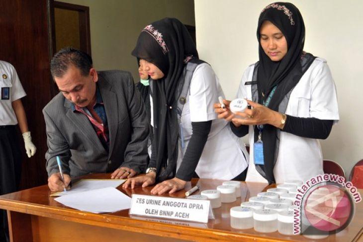 Hasil tes urine anggota DPR Aceh negatif