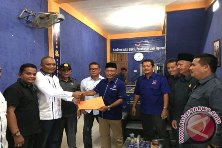 Islamuddin mendaftar ke Nasdem Pidie Jaya