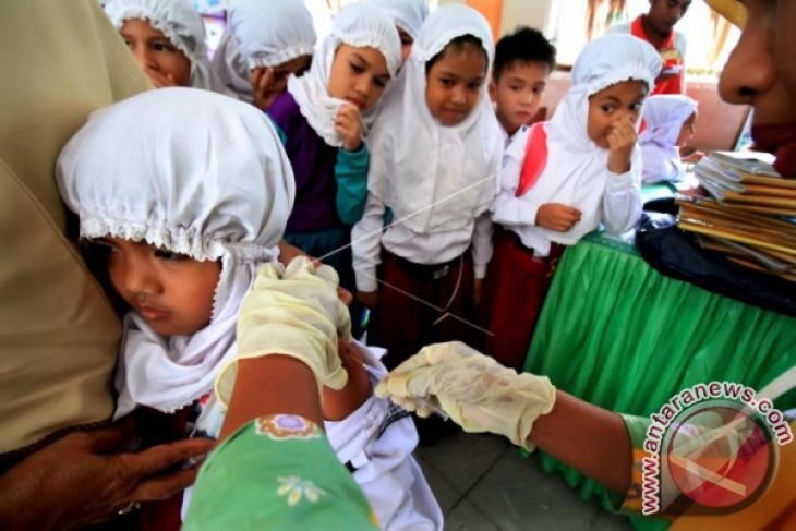 112 kasus difteri terjadi di Aceh