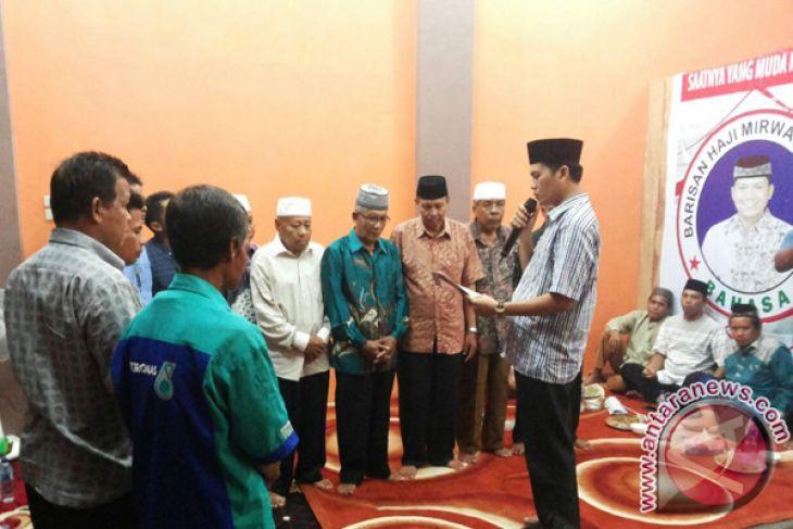 Balon bupati Aceh Selatan kukuhkan relawan