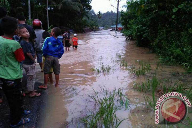 Sembilan desa di Singkil terendam banjir