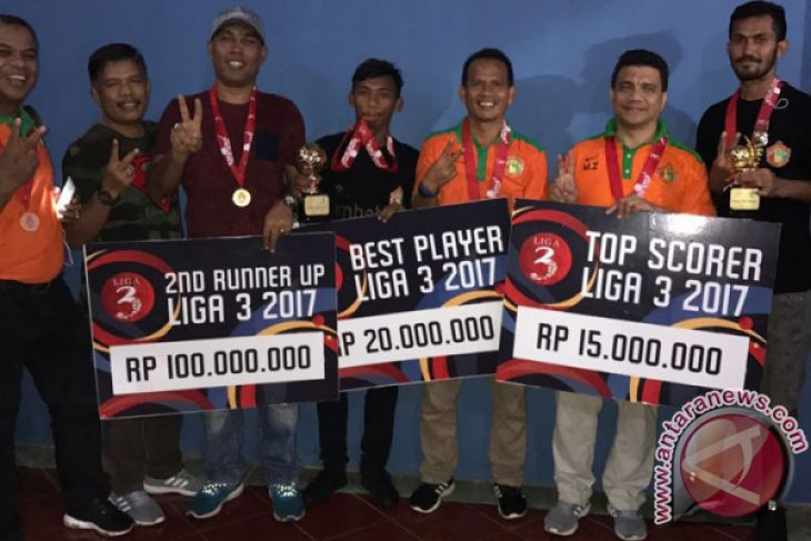Aceh United raih pemain terbaik dan topskor