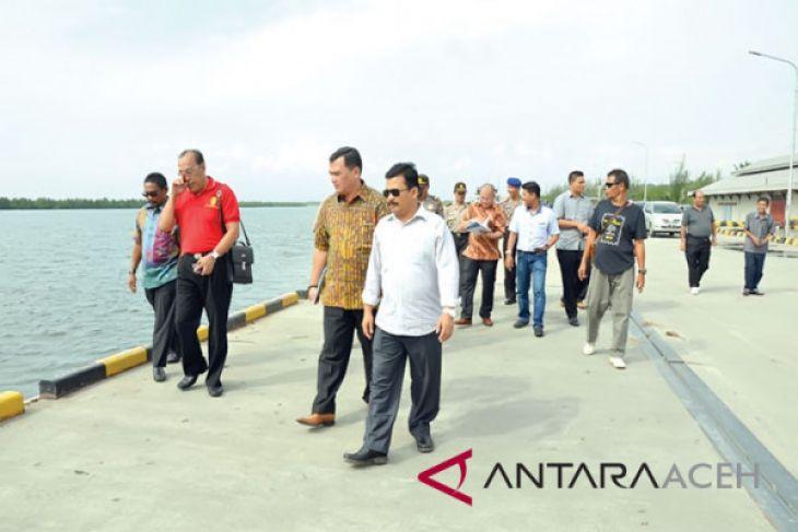 Menggapai asa Pelabuhan Kuala Langsa