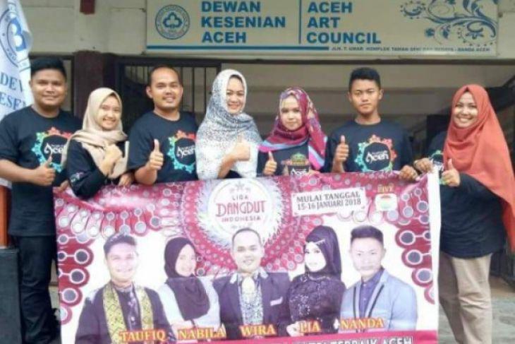 Lima wakil Aceh di Liga Dangdut Indonesia