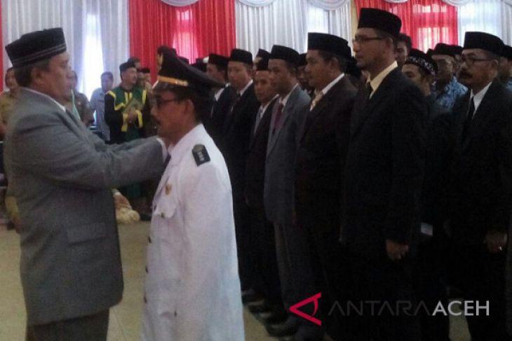 Bupati Aceh Selatan lantik 96 pejabat