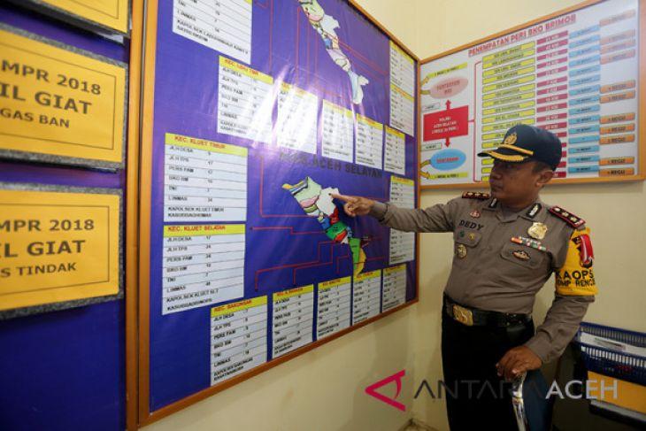 Pengamanan Pilkada Aceh Selatan