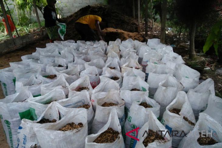 Permintaan pupuk kompos meningkat di Banda Aceh
