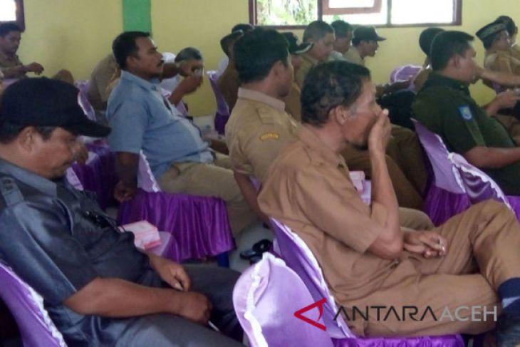 Keuchik di Singkil keluhkan lamanya pencairan dana desa