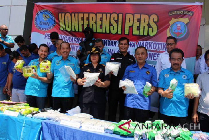 BNN tembak gembong narkoba di Aceh