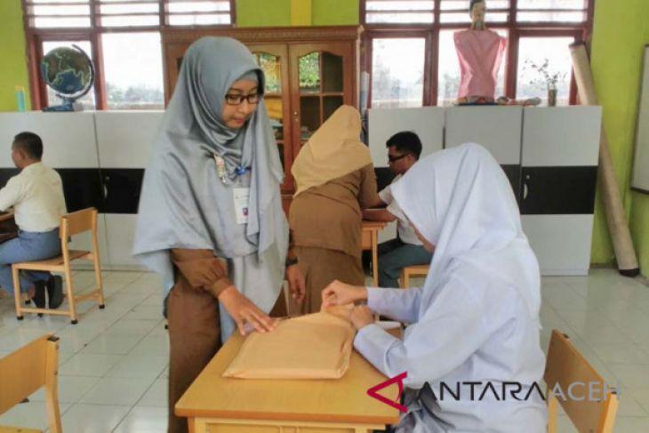 Empat siswa tunanetra ikuti ujian nasional