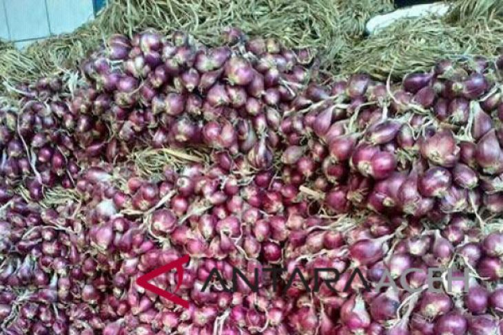 Bawang merah lokal langka di pasaran Lhokseumawe