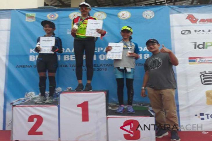 Atlet sepatu roda raih medali kejuaraan nasional