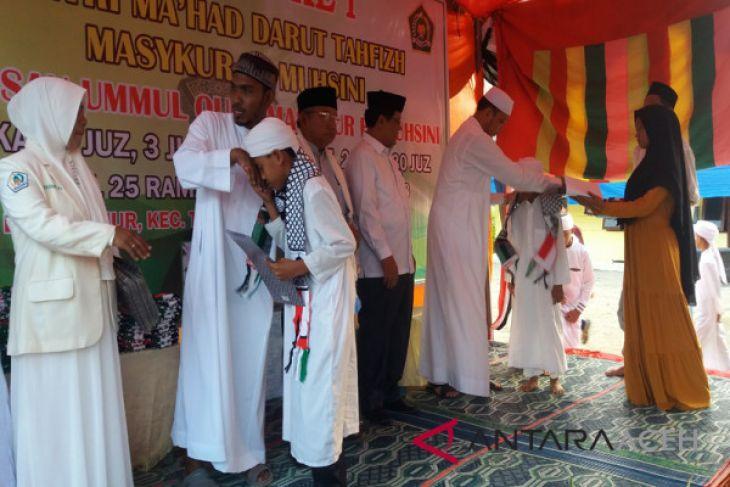 Puluhan hafiz di Aceh Utara diwisuda
