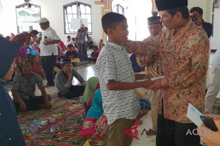 Kamome gelar halal bi halal dan santuni anak yatim