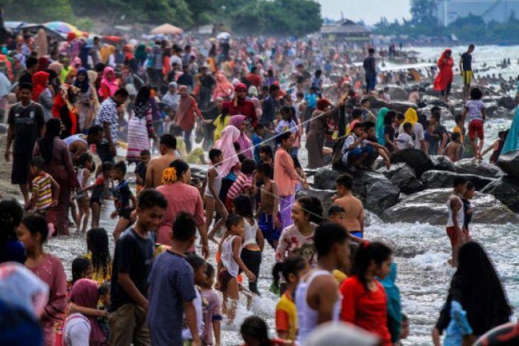 Lokasi wisata di Llhokseumawe ramai pengunjung