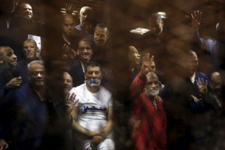 Mesir penjarakan seumur hidup 24 anggota Ikhwanul Muslimin