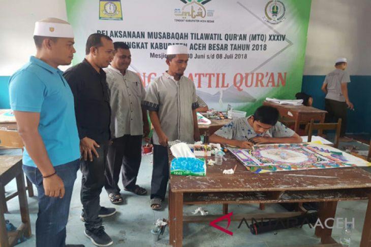 Enam cabang ke final MTQ Aceh Besar