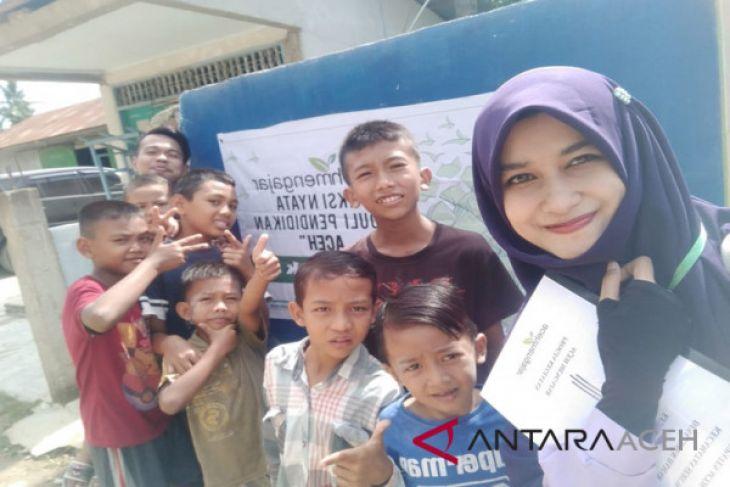 Mahasiswa awali program Aceh mengajar di desa